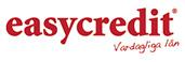 Easycredit erbjuder Snabblån från 500 till 20 000 kr upp till 5 år